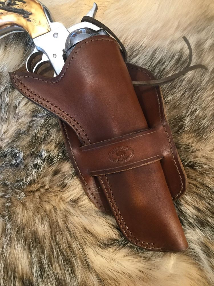 Details about Cross Draw Single Action Revolver Holster