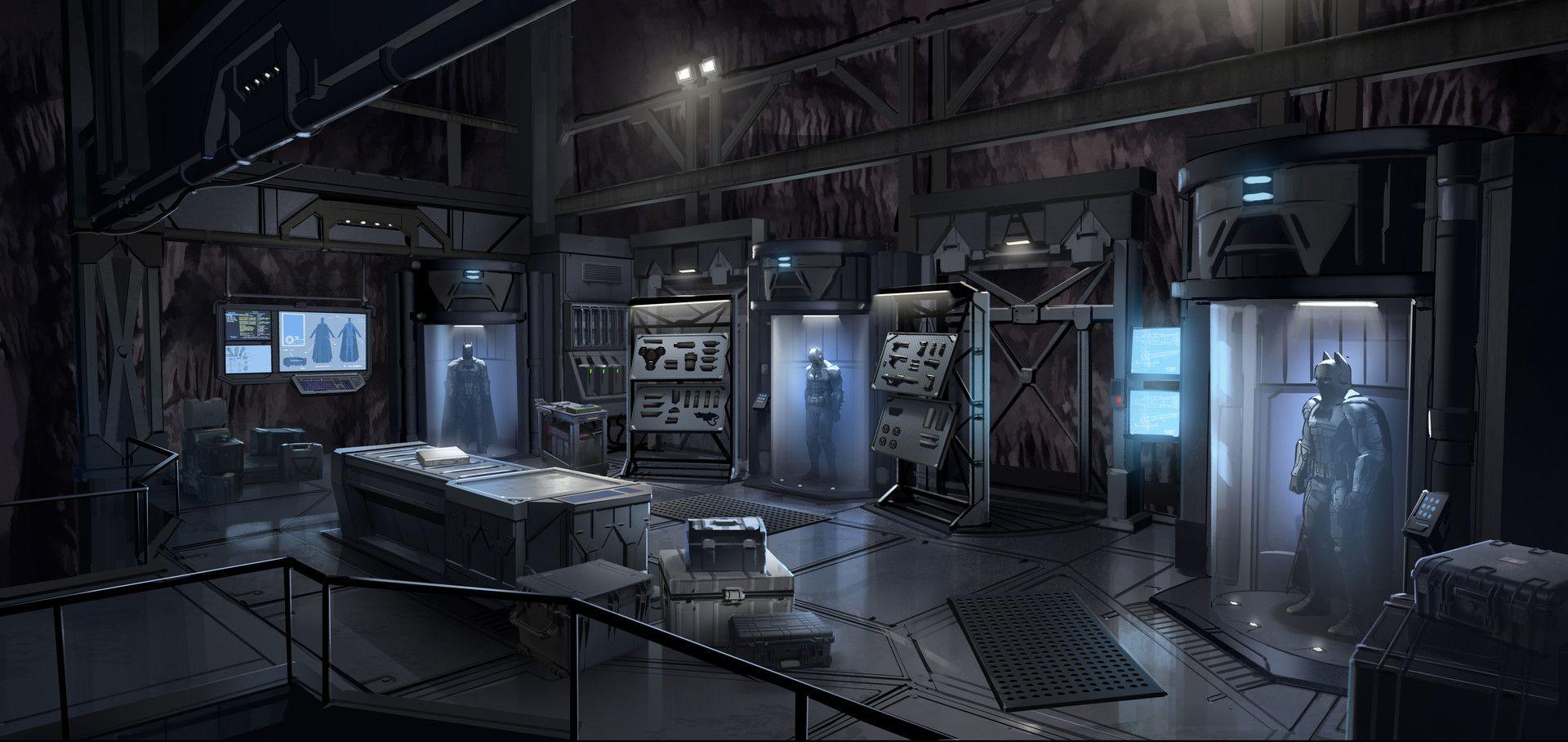 ArtStation Batman Season 2 Batcave, Gray Rogers