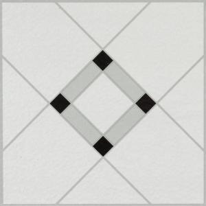 Armstrong Lattice Lane Black White 12 In X 12 In Residential Peel And Stick Vinyl Tile Flooring 45 Sq Ft Case 25280011 The Home Depot Vinyl Tile Peel And Stick Vinyl Peel And Stick Floor
