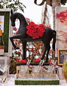 "Since the Kentucky Derby® is often referred to as the ""Run for the Roses"" (in honor of the Garland of Roses presented to the winner), it seems only fitting"