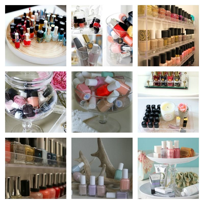Nail Art Storage Ideas: A Touch Of Luxe: Storage: Cute Ways To Store And Display