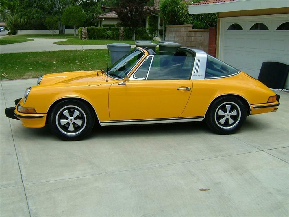 1973 PORSCHE 911 TARGA –  – Barrett-Jackson Auction Company – World's Greatest Collector Car Auctions