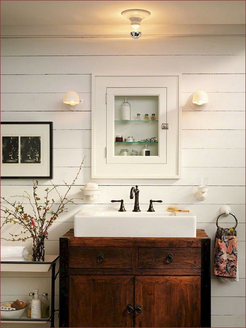 80 top inspire farmhouse bathroom design decor ideas on bathroom renovation ideas nz id=32647