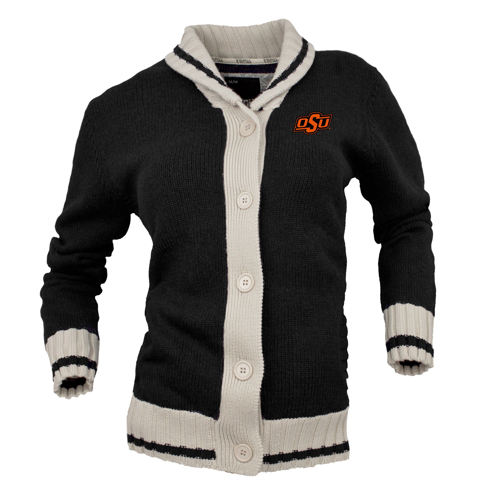 Renu Oklahoma State Cowboys Women's Black Button-Up Sweater ...