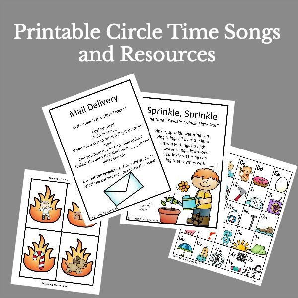 Outdoor Literacy | Circle time activities, Circle time ...