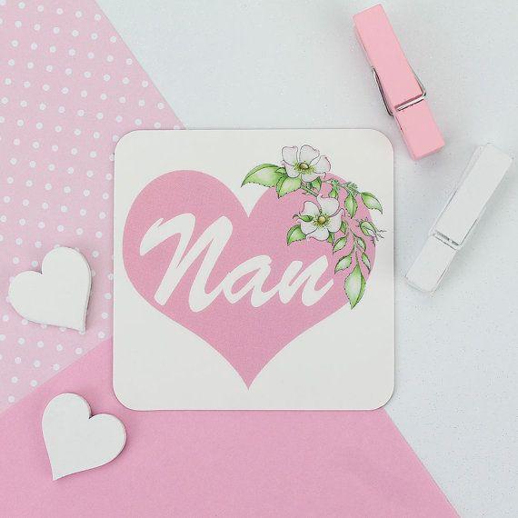 Nan Flower Magnet