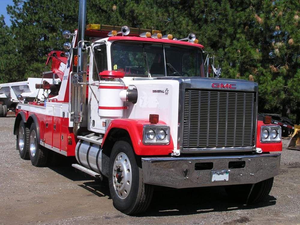 1986 Gmc General Century 1040 Truck Tow Truck Trucks Gmc