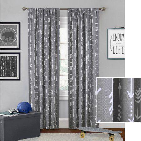 7c743ba351c3b8d6842f17f4a2d11a50 - Better Homes And Gardens Airplanes Curtain Panel