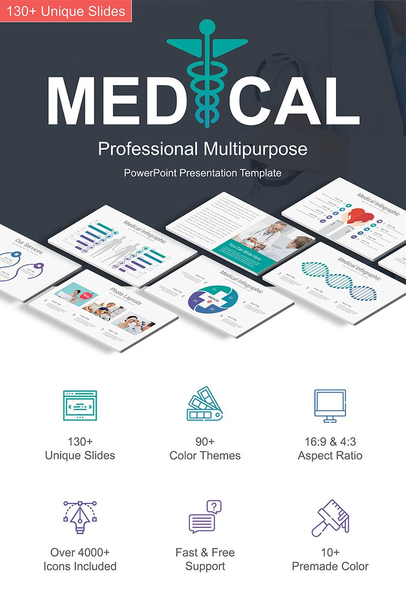 Medical Powerpoint Template 76558 Powerpoint Presentation