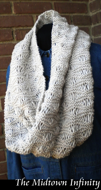 Infinity scarf - This is a fun stitch pattern! Look for \
