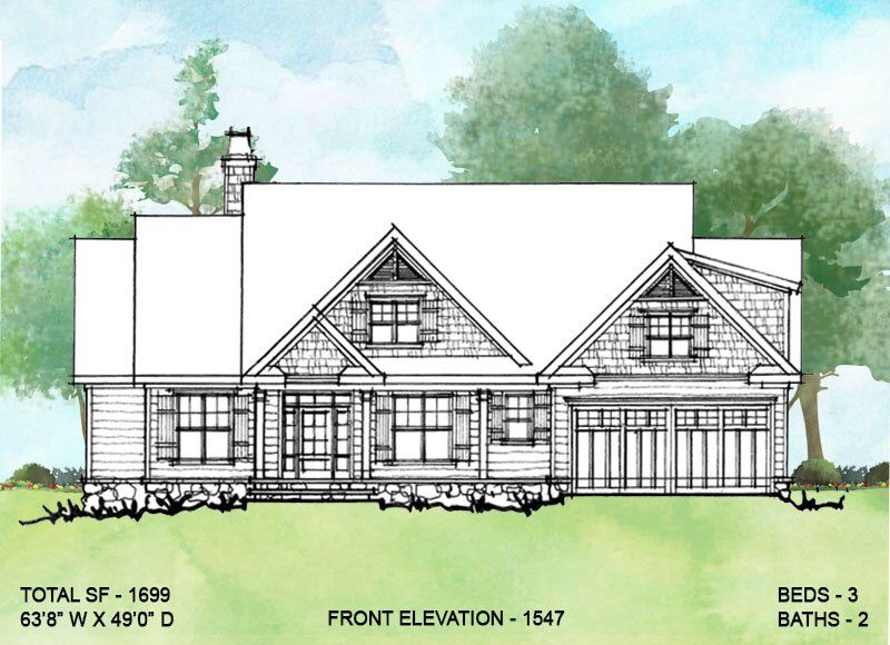 House Plan 1547 Modest Ranch Rustic House Plans Craftsman House Plans Simple House Plans