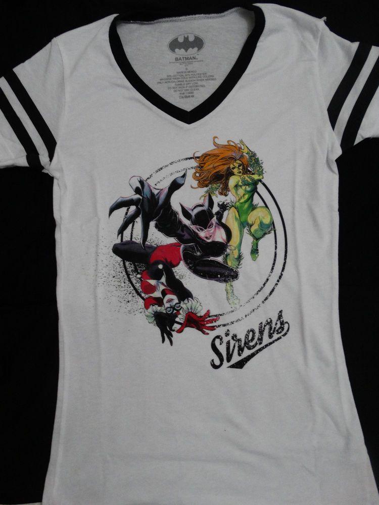 c06df4550 Harley Quinn Bad Girls Are Good DC Comics Junior V Neck T Shirt Women's  Clothing Tops