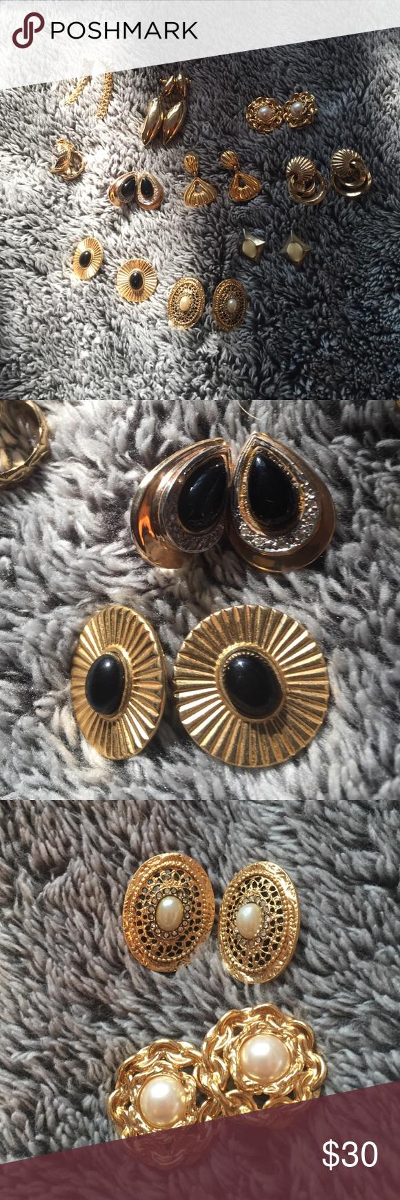 Earring bundle Variety of earrings all in great shape! Jewelry Earrings