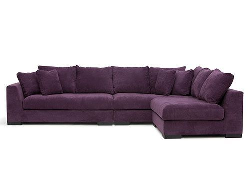 Pretty Purple Sectional Sofas For Small Spaces Small Space