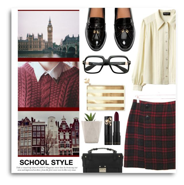 """""""Untitled #832"""" by mlka ❤ liked on Polyvore featuring Sonia Rykiel, H&M, Valentino and Kate Spade"""