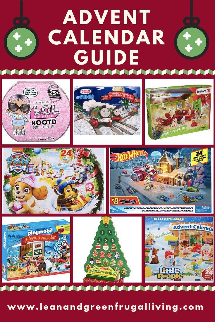 2018 Advent Calendar Guide Christmas Crafts For Kids Advent