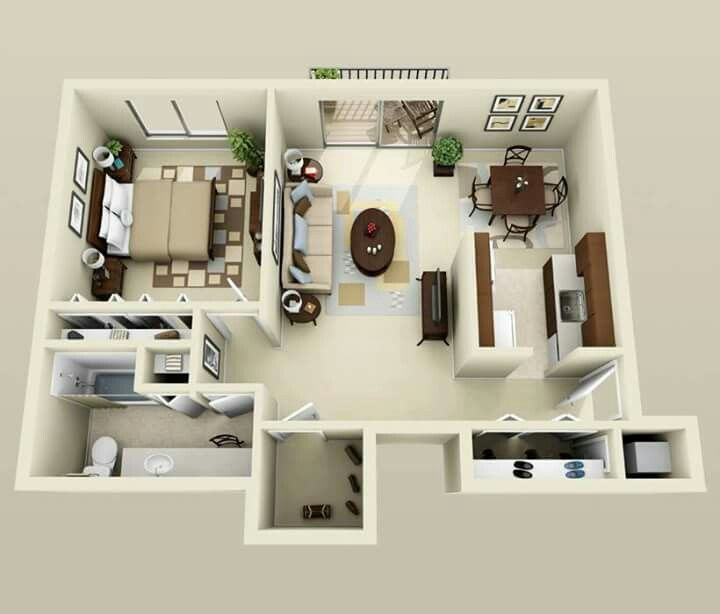 Pin by Carla Melissa on Home and Design Pinterest - Apartment House Plans