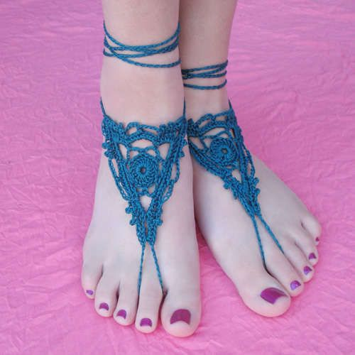Top 10 Free Crochet Patterns for Barefoot Sandals | Crochet