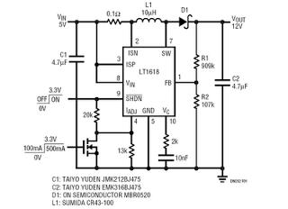usb voltage converter 5v to 12v | power supply circuit, circuit ...  pinterest
