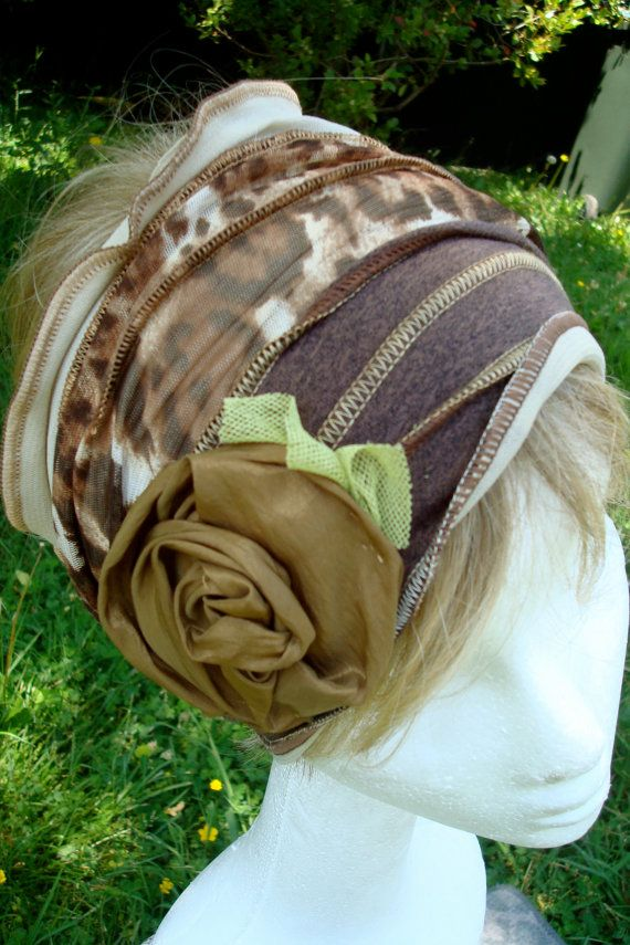 0b87dbe3bbd138 Womens Head Wrap Headband chemo hat Leopard Print Head Scarf Head cover Bohemian  Hippie Chic.