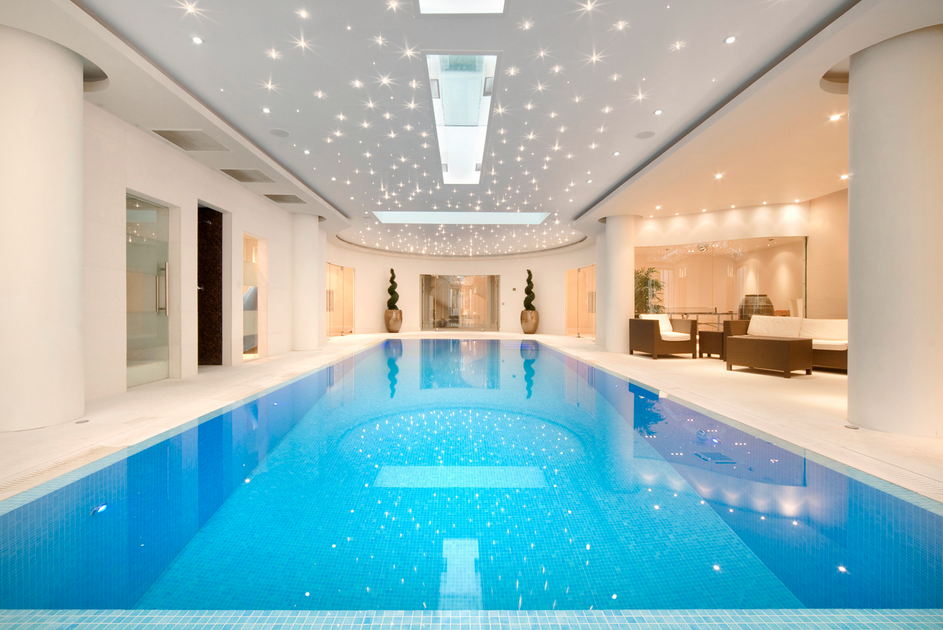 Indoor Swimming Pool | Wow, nice. :) | Swimming pools, Home ...