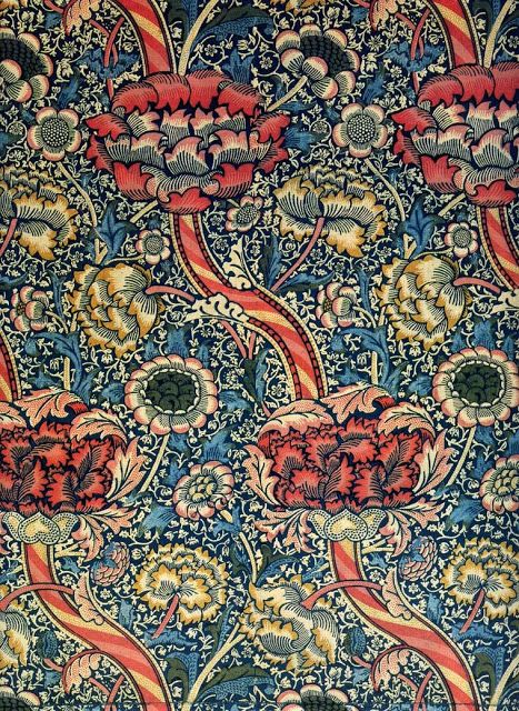 Wandle Design william morisson pattern and print william morris