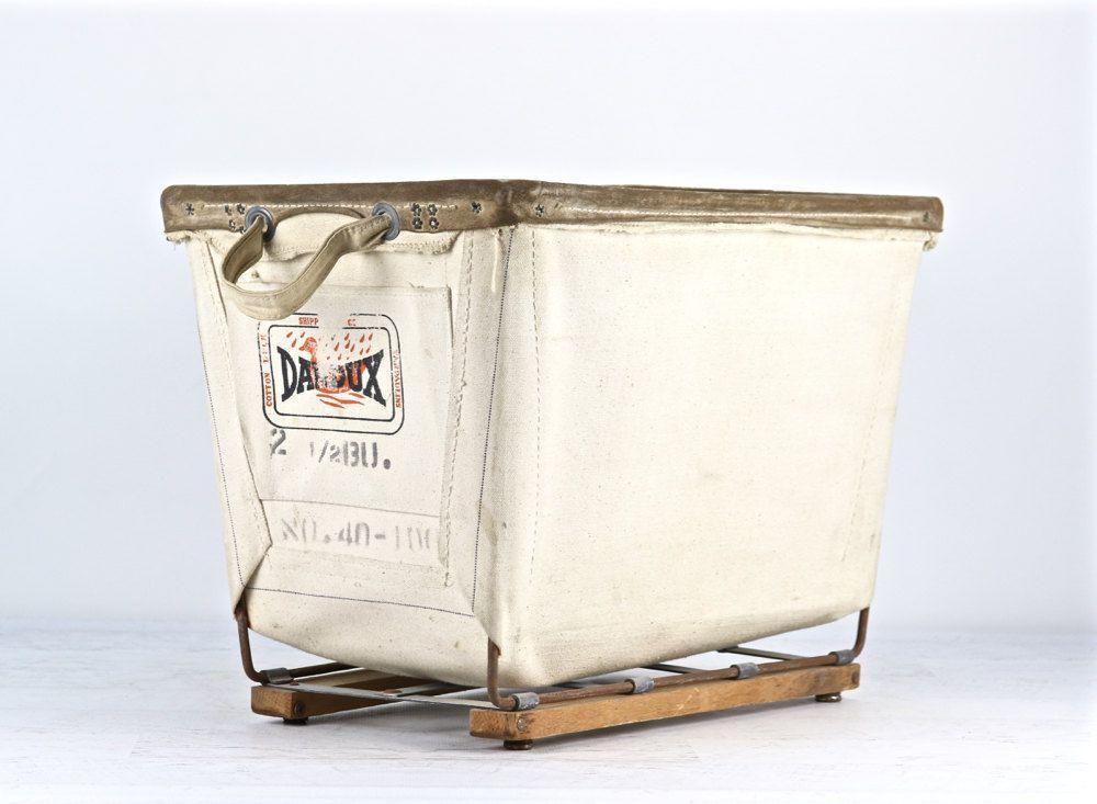 Canvas Laundry Cart Vintage Canvas Laundry Cart Cart On Wheels