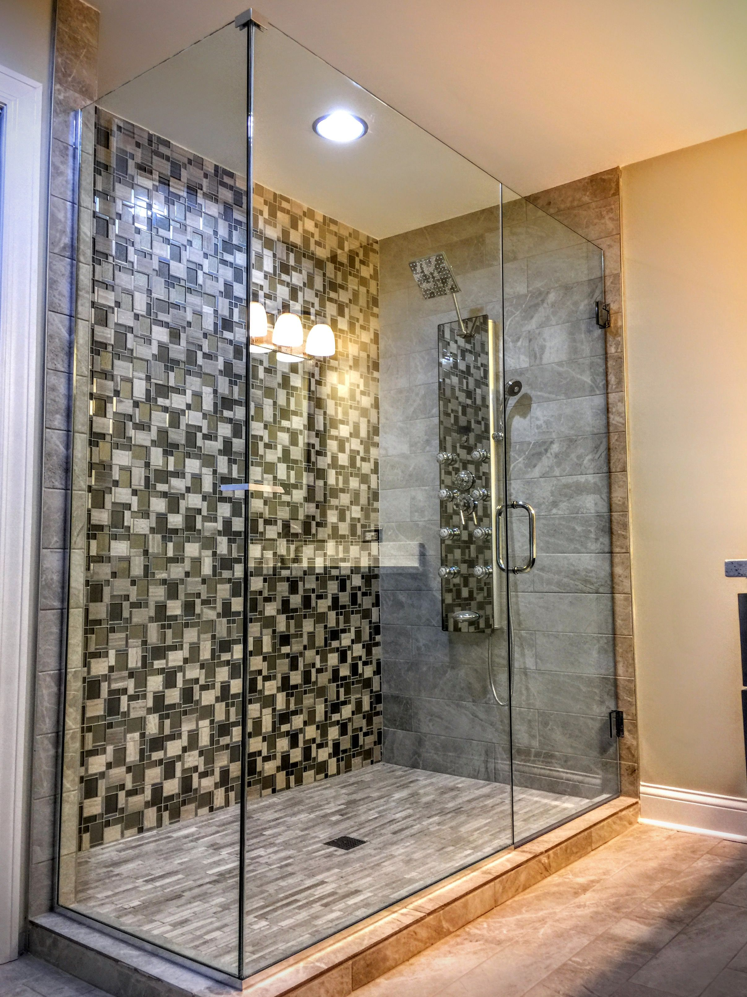 Beautiful Luxury Bathroom Shower Doors Glass Showers Are Custom Made And Designed By Uga Check Out Our Shower Enclosure Luxury Bathroom Shower Luxury Shower