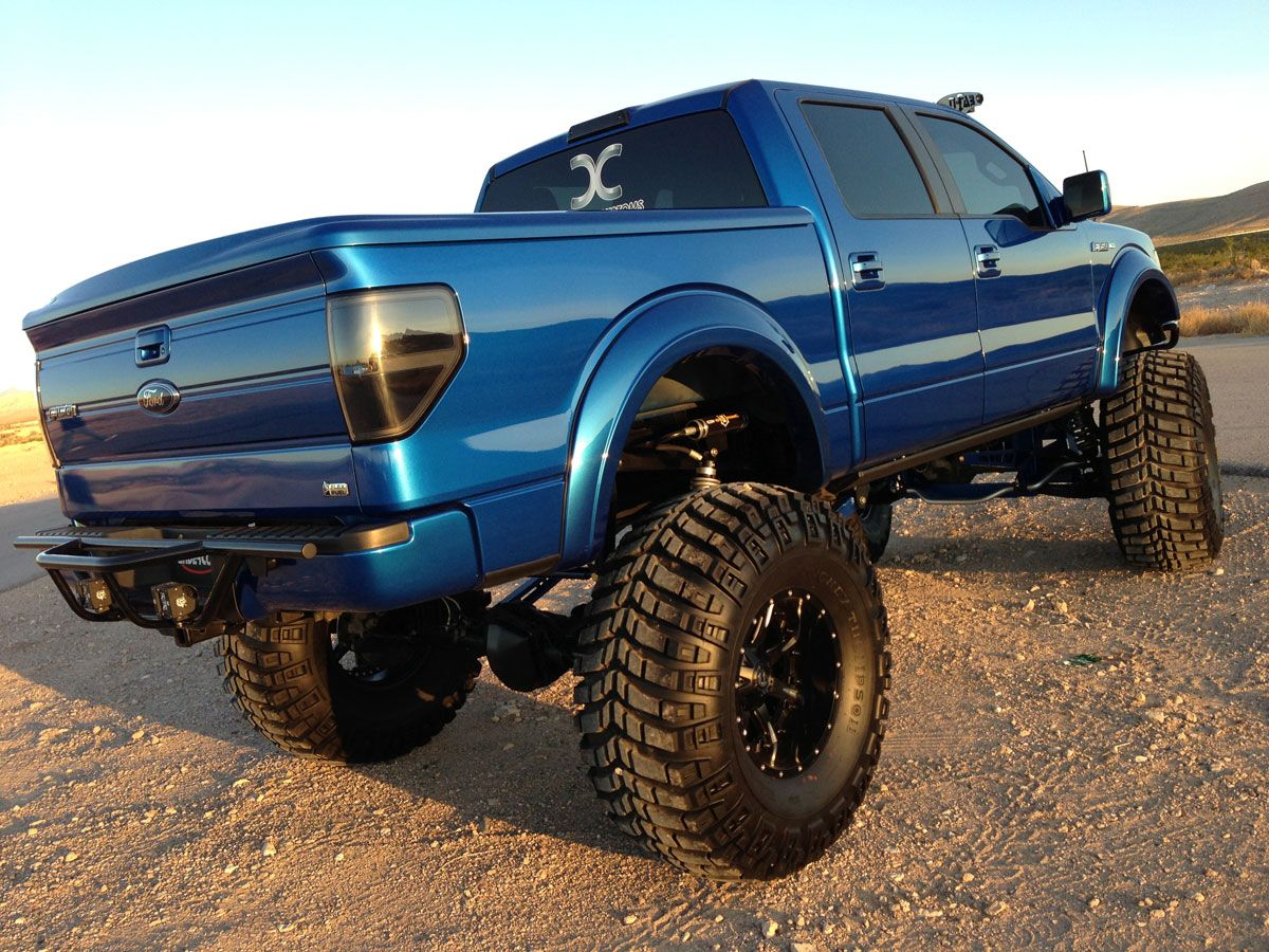 Lifted ford f 150 trucks