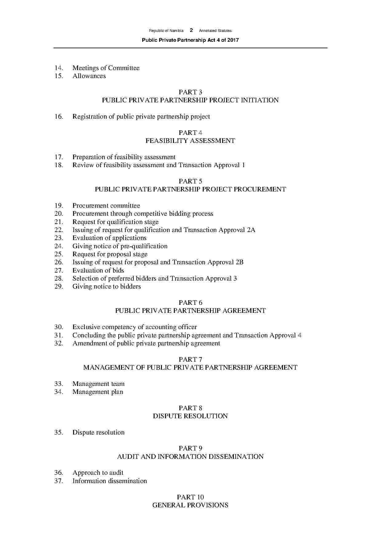 Partnership Agreement Amendment Public private