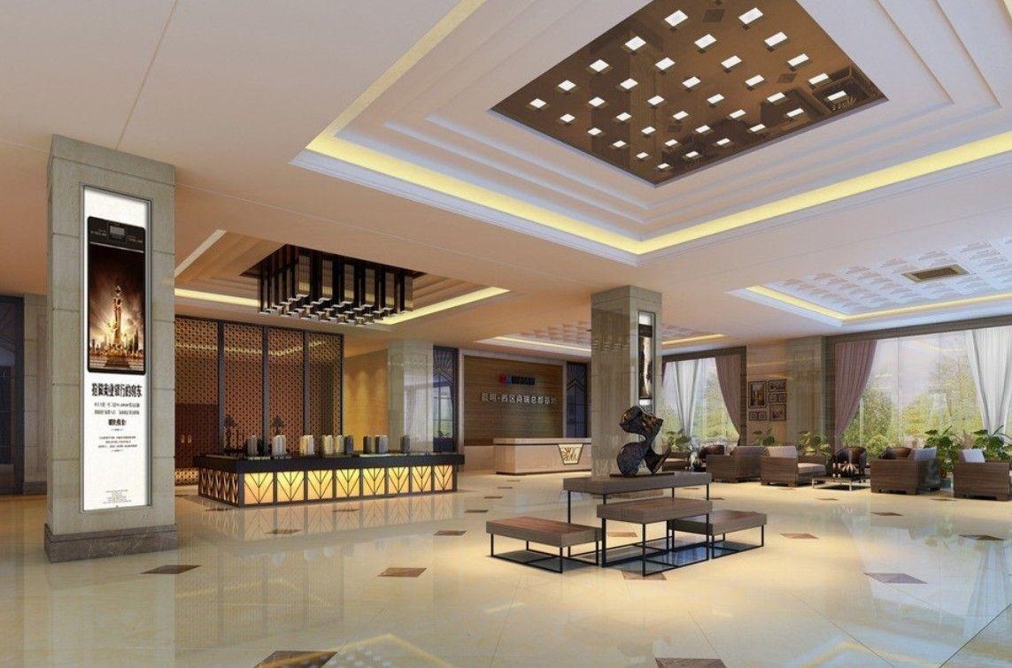 Hotel Interior Design And Ceiling Design - interiordev