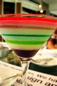 10- A specially combined molecular gastronomy drink that tastes as good as it looks.