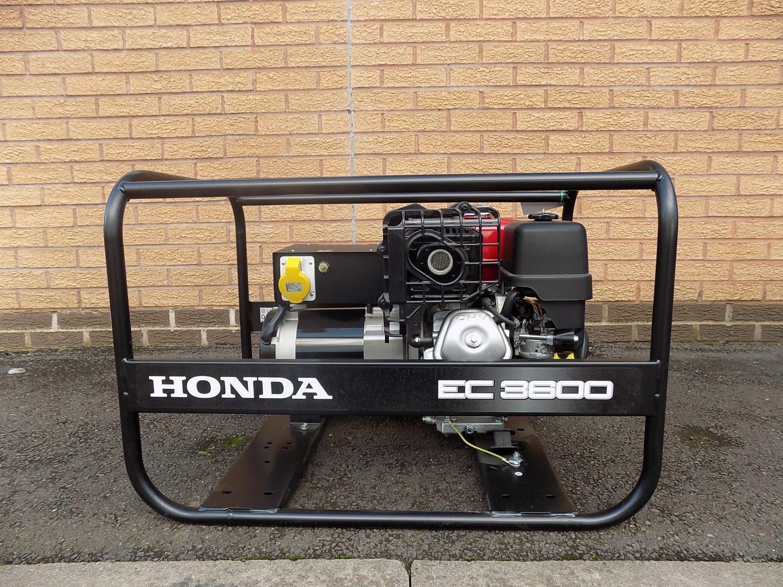 D Honda EC3600 Generator