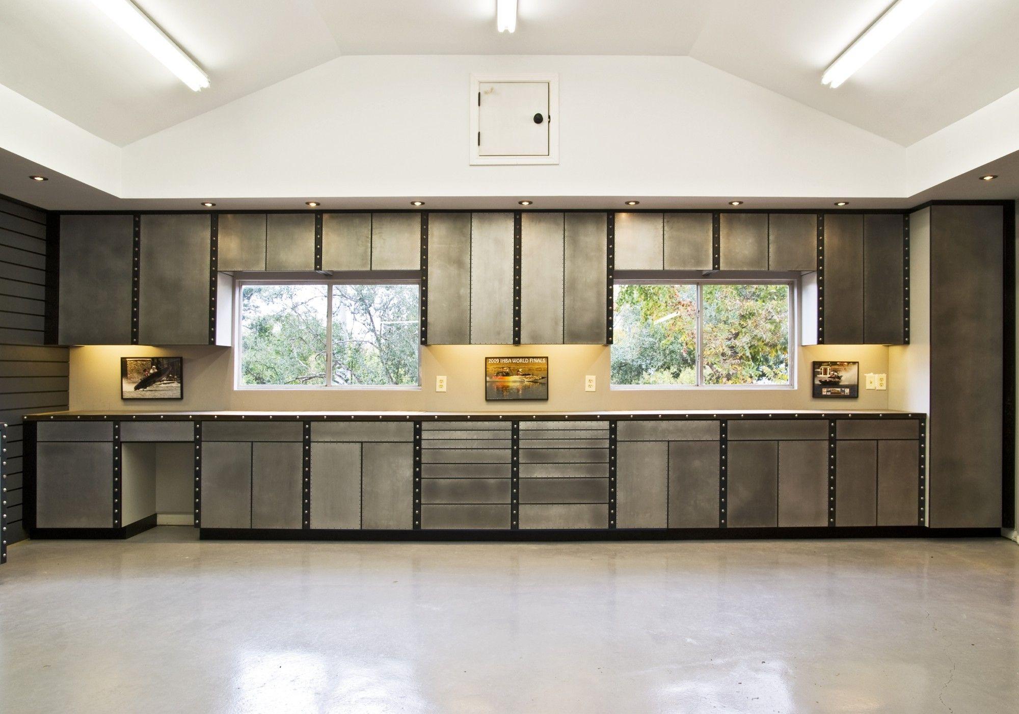 Cabinet Design Storage Ideas Modern Decoration Furniture Modern Space Saving Garage Cabinets Design Car Gu Garage Interior Garage Design Interior Garage Design