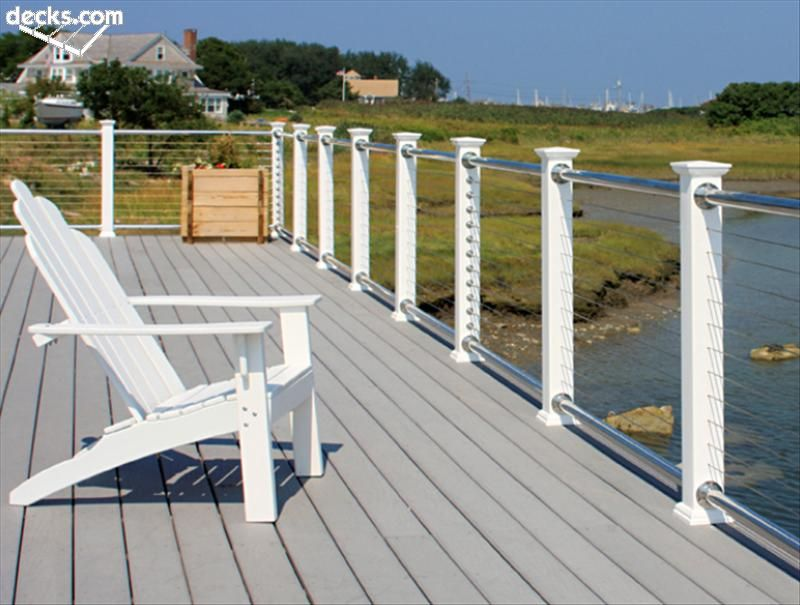 Deck Railing Design Ideas 1 of 14 Find This Pin And More On Deck Ideas Metal Deck Railing Designs