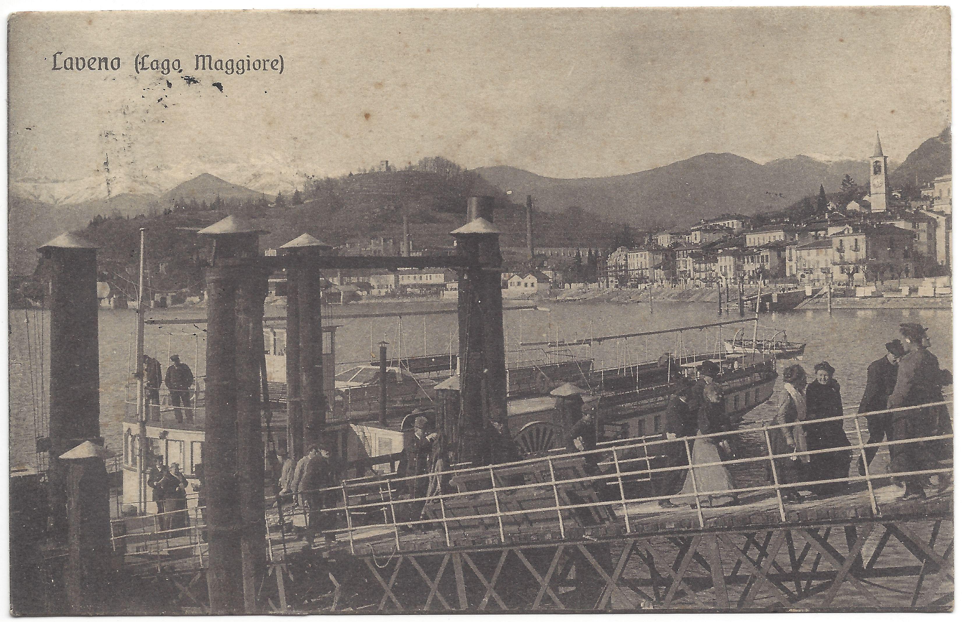 LAVENO (1918) (Lago Maggiore)
