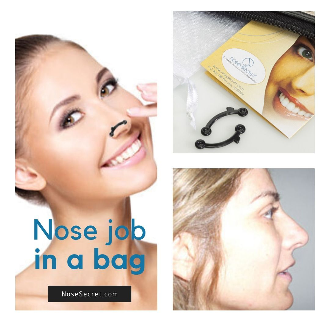 Own your look! NoseSecret®is a quick , 5 minutes non