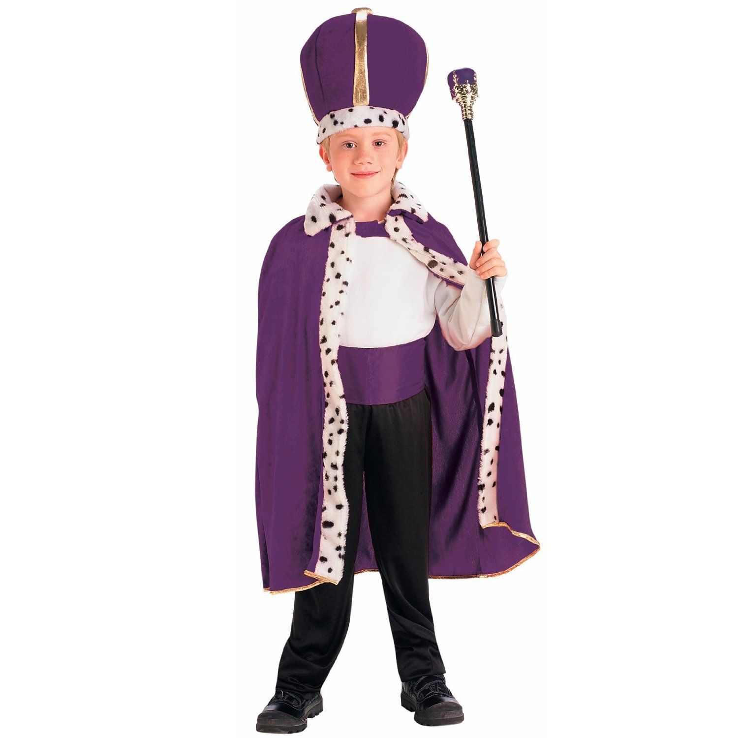 Purple King Robe and Crown Costume | Dress Up | Pinterest