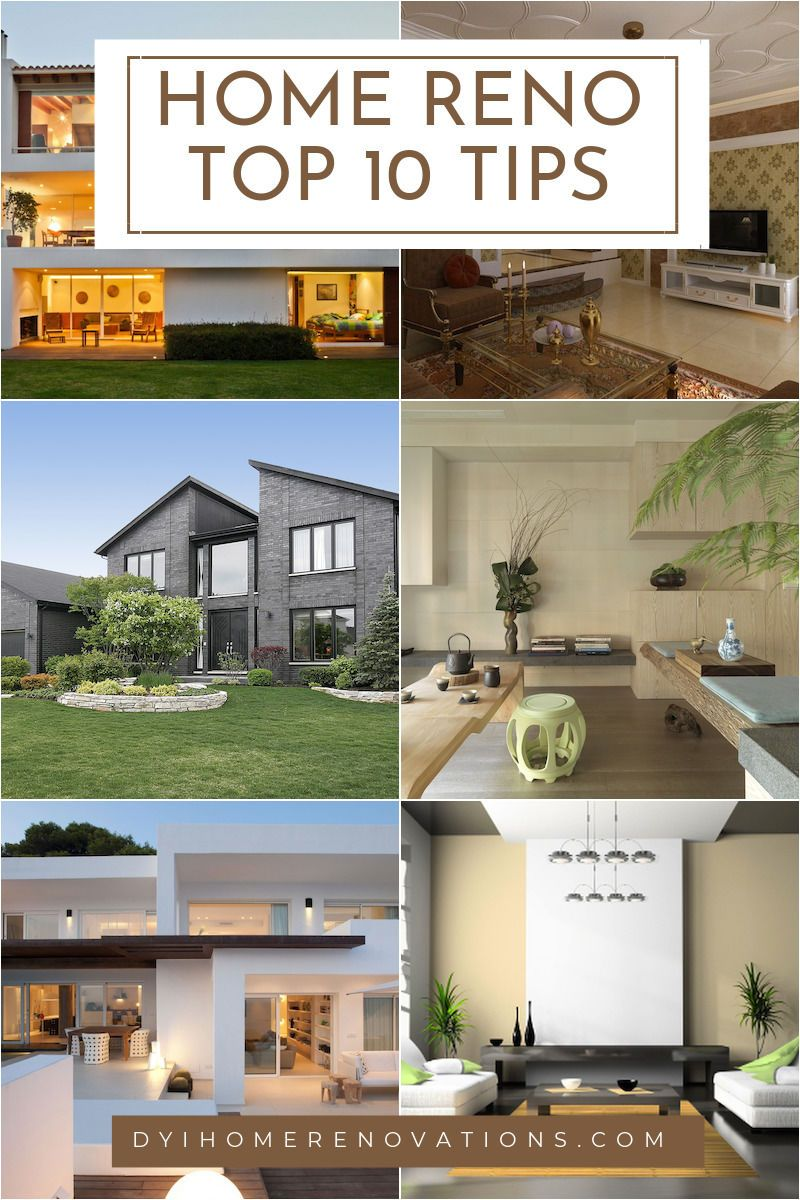 Saving Money On Home Renovations Modern House Design House