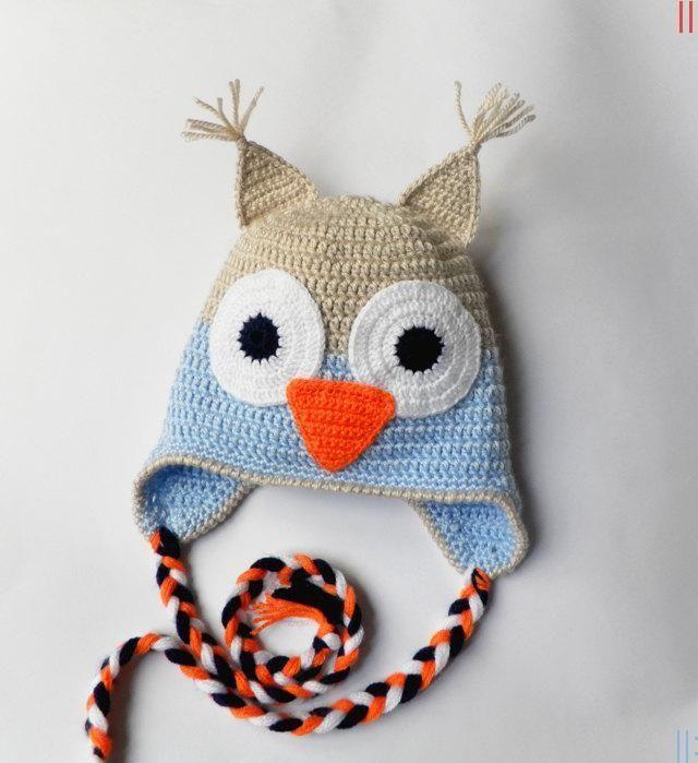 Anlatımlı Baykuş Bere Yapımı | bebiş | Pinterest
