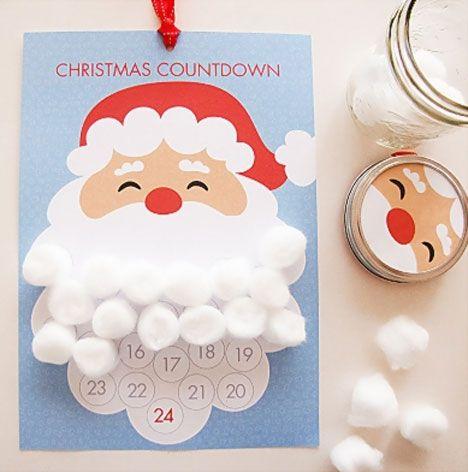 Hvor mange dage er der til jul? Her får du 8 kreative ideer, så hele familien kan være med til at tælle ned til jul på en sjov måde ♥