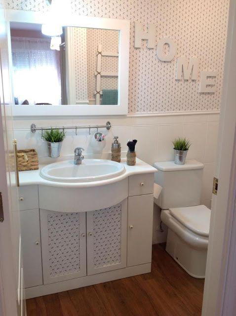 Te gustaría cambiar el aspecto de tu baño por poco dinero ...
