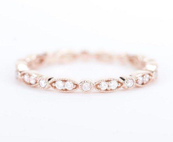50 Coolest Wedding Bands For Women Diamond Wedding Bands Rose Gold Wedding Bands Diamond Wedding