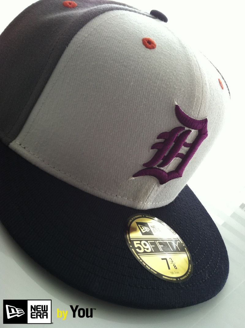 4aaf60537f704 Detroit Tigers X New Era By You 59FIFTY
