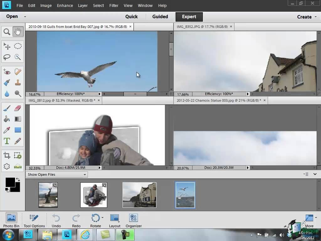 Learn how to use photoshop elements 11 part 37 working with learn how to use photoshop elements 11 part 37 working with multipl baditri Choice Image