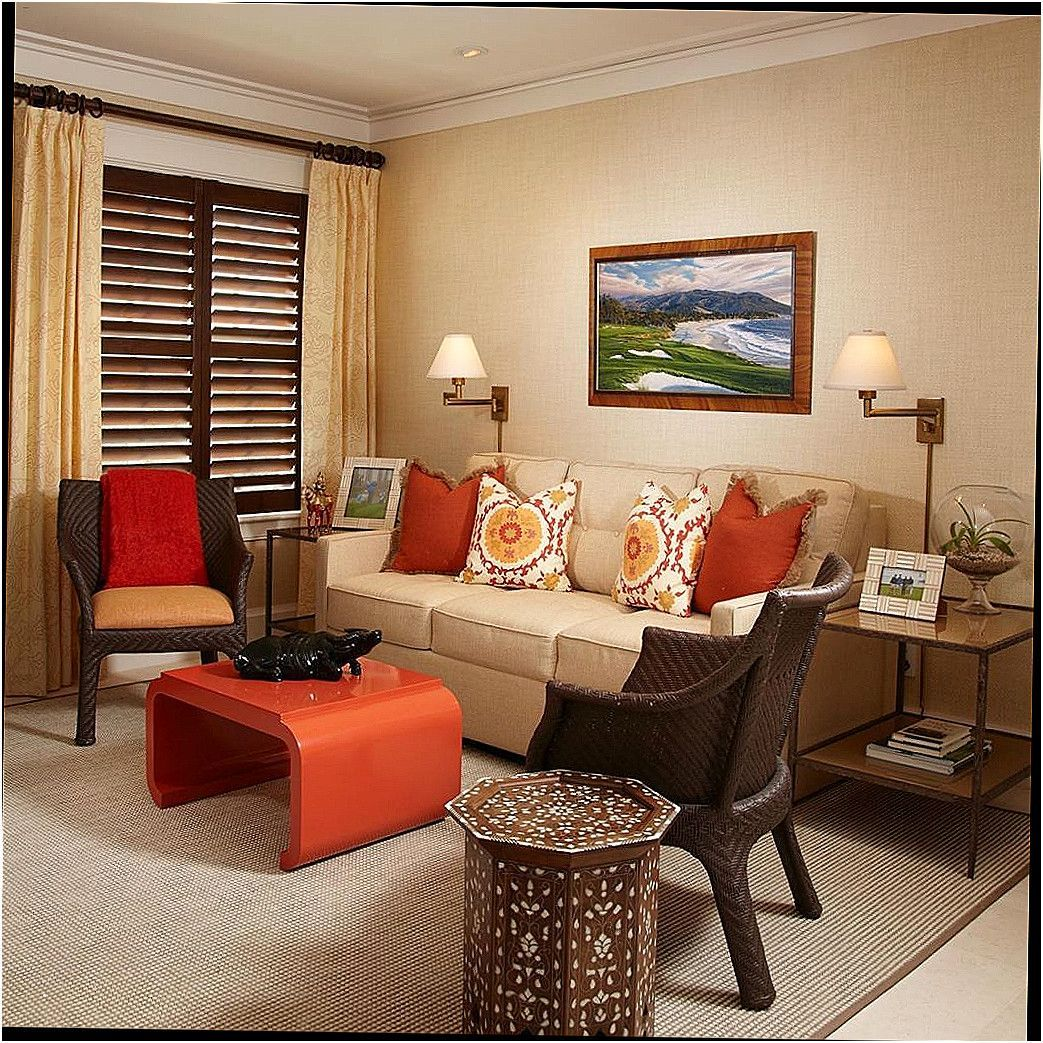 new chocolate and burnt orange living room ideas in 2020