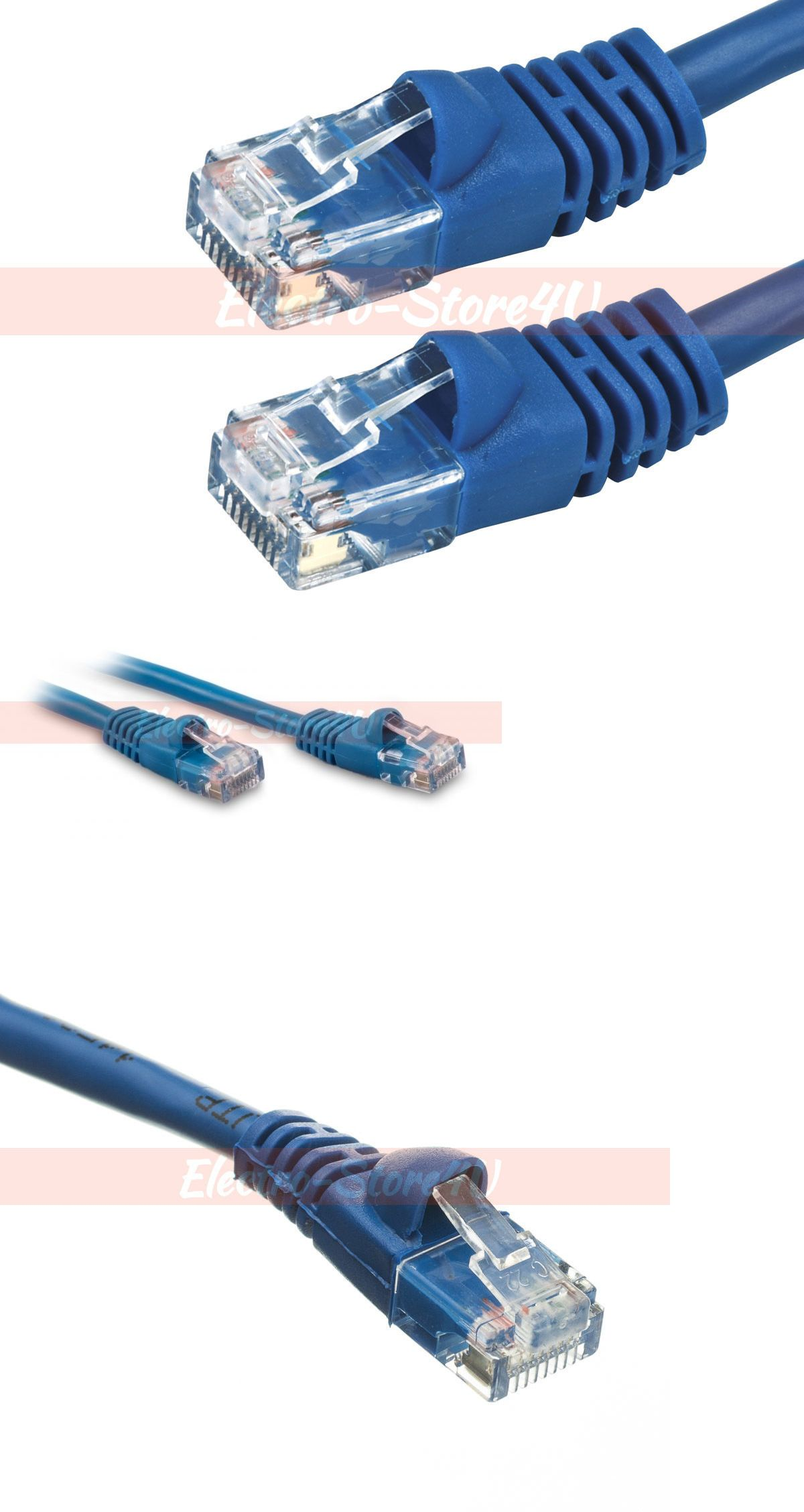 Ethernet Cables Rj 45 8p8c 64035 Cat6 Ethernet Patch Cable 1 5 3 5 7 10 15 20 25 30 50 75 100 200 Lot Lan Blue Buy I Networking Cables Ethernet Cable Cable