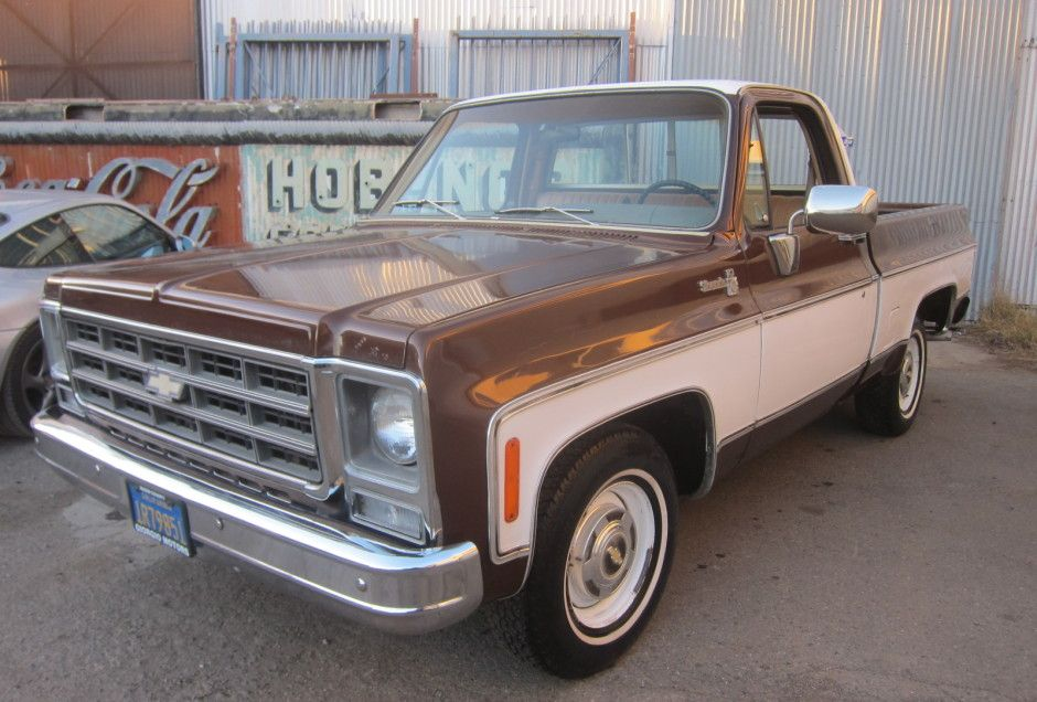 No Reserve 1979 Chevrolet C10 Silverado Old Pickup Trucks Chevrolet Chevrolet Pickup