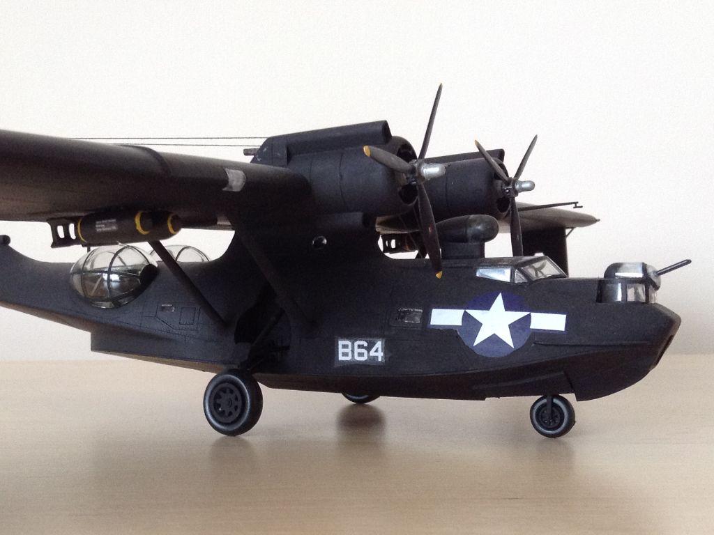 802cb561083 PBY Catalina Black-Cat 1/72 model | PBY Catalina | Model airplanes ...