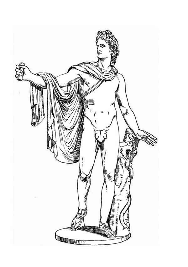 greek mythology hercules coloring pages google - Ancient Greek Gods Coloring Pages